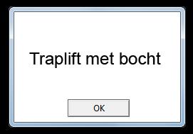Traplift-met-bocht
